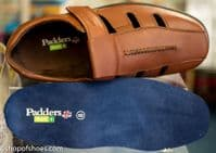 Dawlish Extra wide tan leather mens touch fastening closed sandal. from shopofshoes.com Hampshire near Basingstoke, Winchester, Newbury and Andover